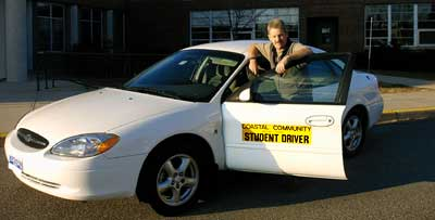 Meet Gary Boyd, offering drivers ed classes for York ME students